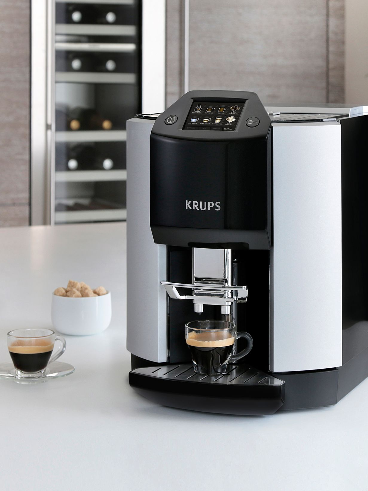 Italian Coffee Maker John Lewis : Buy KRUPS EA9010 Espresseria Bean-to-Cup Coffee Machine, Silver John Lewis